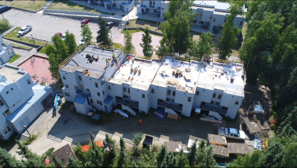 UAF Bunnell eLearning Remodel, Fairbanks, AK